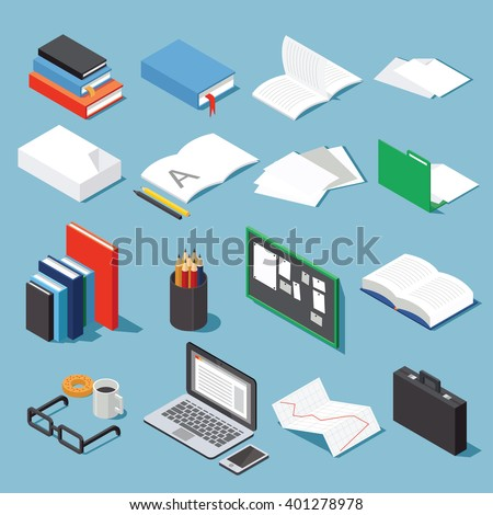 Isometric Paper Stock Images RoyaltyFree Images  Vectors