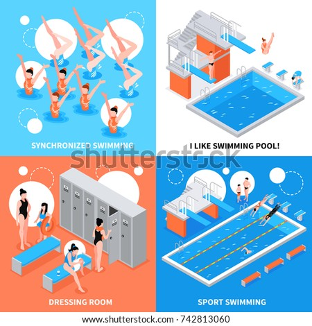 Public swimming pool stock images royalty free images for Sport swimming pool design