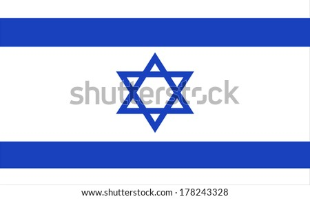Israel Flag  - stock vector