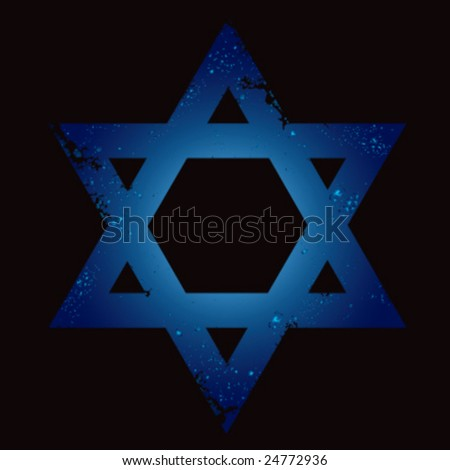 Israeli star background
