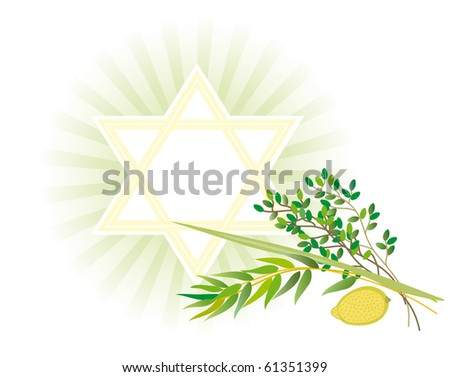 It is accepted to give all four types of plants each of which symbolizes the certain type of people. - stock vector