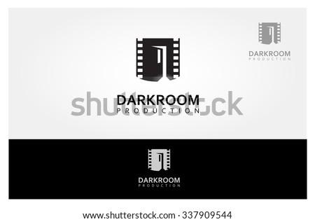 It's a Media company logo or film production studio - stock vector