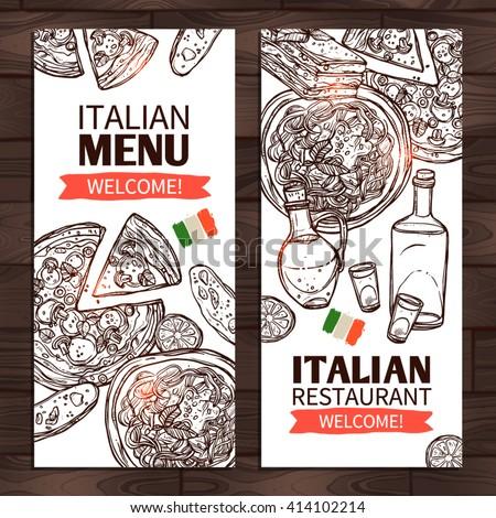 Italian Menu Images RoyaltyFree Images Vectors – Italian Menu