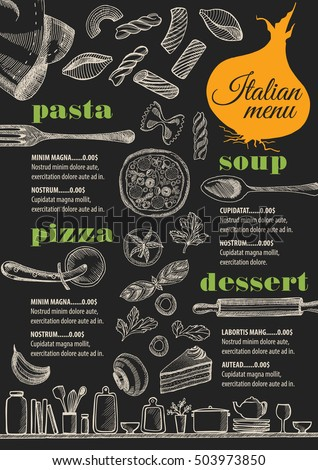 Italian Menu Stock Images RoyaltyFree Images  Vectors