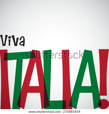 Italian Republic Day card in vector format.