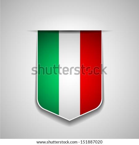 Italy - stock vector