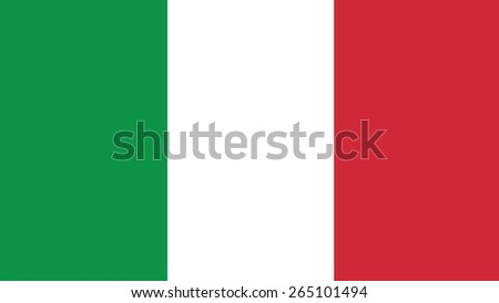 Italy Flag for Independence Day and infographic Vector illustration. - stock vector