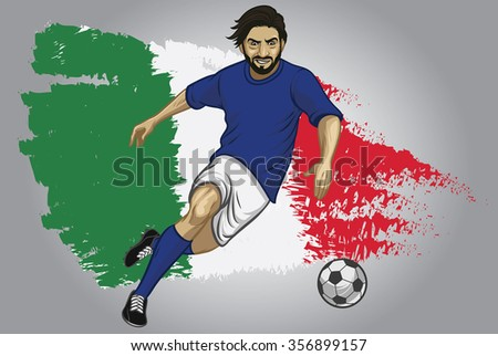 how to put player images on a football flag