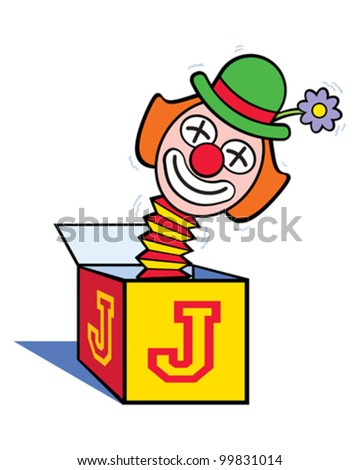 Jack in the Box - stock vector