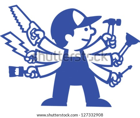 Jack of all Trades - stock vector