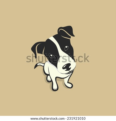 Jack Russell Terrier - vector illustration - stock vector