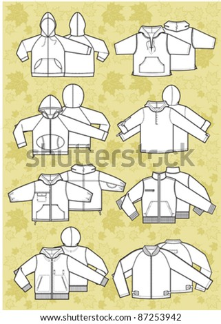 jacket - stock vector