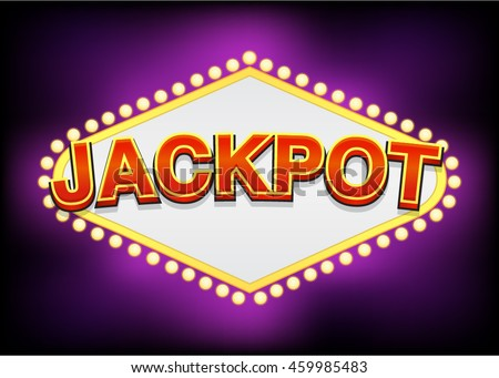 Jackpot Slot Machine Title Asset