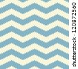 Jagged chevron in seamless pastel poster background pattern - stock vector