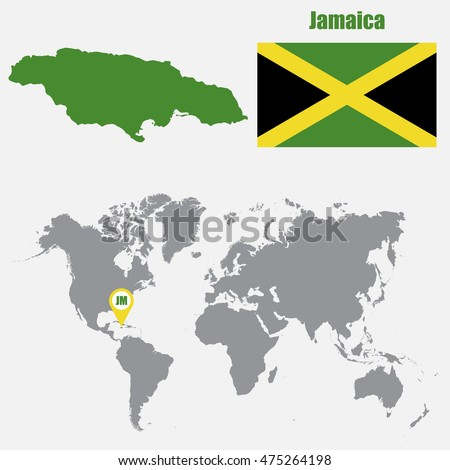 Jamaican Map Stock Images Royalty Free Images Vectors Shutterstock
