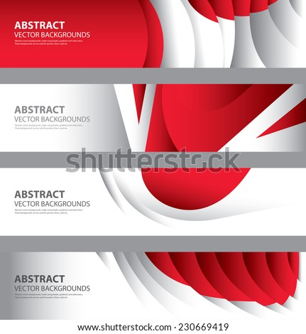 japan flag color background collectionjapanese style stock vector, Powerpoint templates