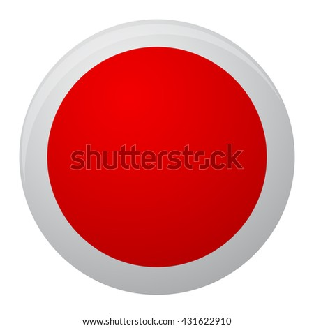 Japan Flag Icon Flat Japan Country Stock Vector Hd Royalty Free