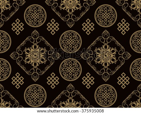 japan, japanese culture, japanese pattern, japanese pattern vector, japanese pattern art, japanese pattern design, japanese pattern style, japanese pattern image, dark image - stock vector