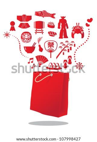 japan shopping bag