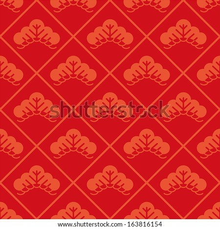 Japanese pattern - stock vector