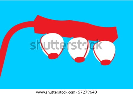 Japanese Lamp Stock Images Royalty Free Vectors