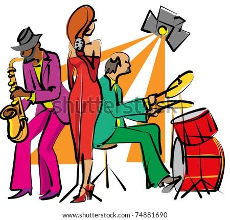 Cartoon Jazz Band Jazz Band