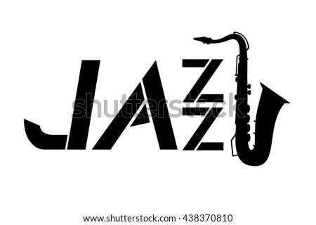 jazz icon - stock vector