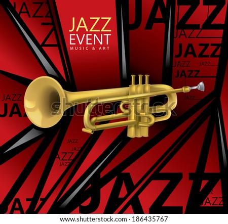Red Trumpet Art
