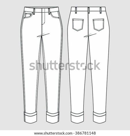 Wonderful Ankle Trousers 112012 107C  Sewing Patterns  BurdaStylecom