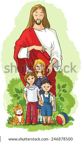 Jesus Kids Stock Images, Royalty-Free Images & Vectors | Shutterstock
