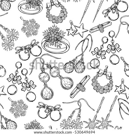 Childrens jewelry borsheims sketch coloring page for Jewelry coloring pages