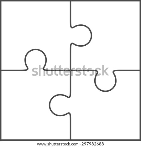 jigsaw piece stock images royalty free images vectors shutterstock. Black Bedroom Furniture Sets. Home Design Ideas