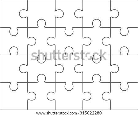 Blank Puzzle Images RoyaltyFree Images Vectors – Blank Puzzle Template
