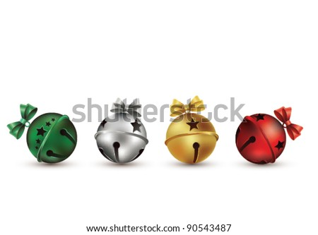 Jingle Bells - stock vector