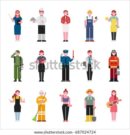 Hotelier stock images royalty free images vectors for Character designer job