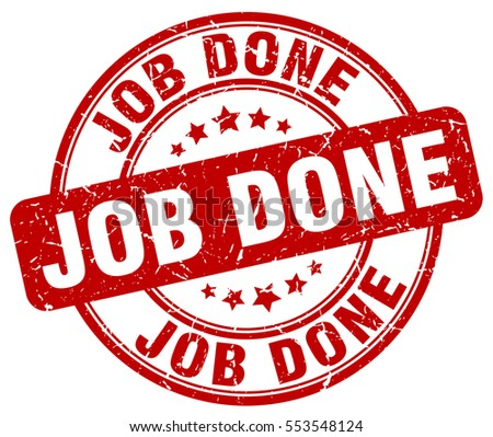 Job Done Stamp Stock Images, Royalty-Free Images & Vectors ...