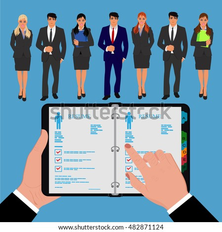 Job Hunters It Stock Images, Royalty-Free Images & Vectors ...