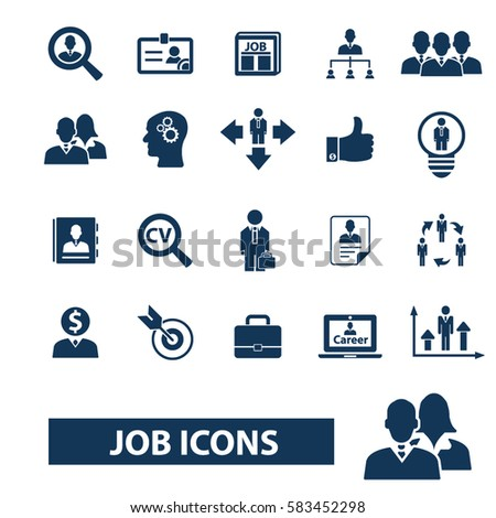 Job Icon Stock Images, Royalty-Free Images & Vectors ...