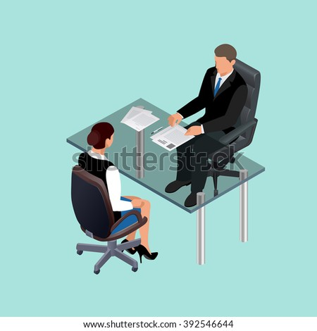 Job interview business, Job interview icon, Job interview isometric, job interview woman, Job interview icon new, Job interview interviews, Job interview interviewing, Job interview in office - stock vector