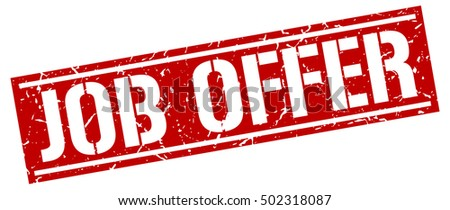 Job Offer Stock Images, Royalty-Free Images & Vectors | Shutterstock