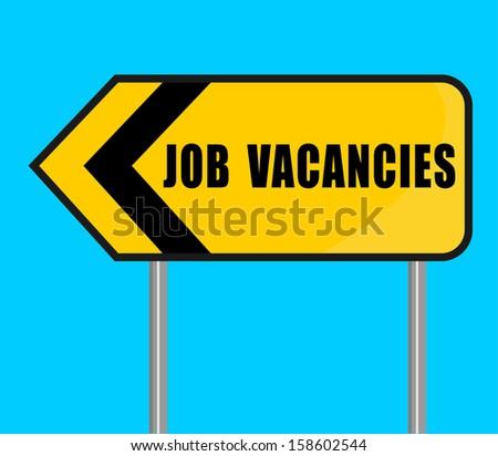 Job Vacancies - stock vector