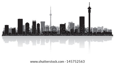 Johannesburg skyline stock images royalty free images vectors johannesburg city skyline silhouette vector illustration thecheapjerseys Choice Image