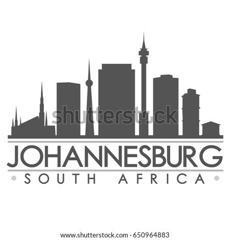 Johannesburg landmark images stock photos vectors shutterstock johannesburg skyline silhouette skyline stamp vector city design thecheapjerseys Image collections