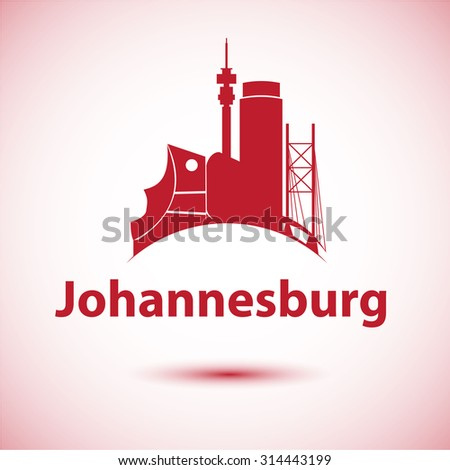 Johannesburg south africa city skyline silhouette stock vector 2018 johannesburg south africa city skyline silhouette vector illustration thecheapjerseys Image collections