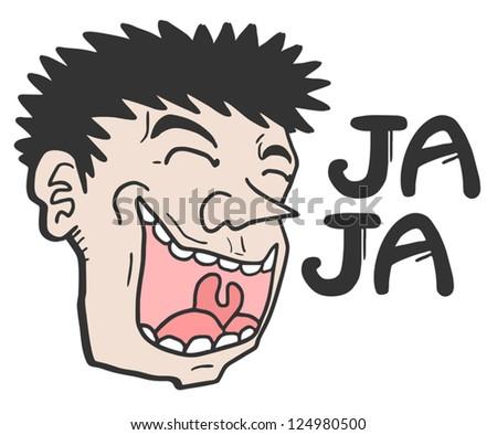 joke face stock vector 124980500 shutterstock