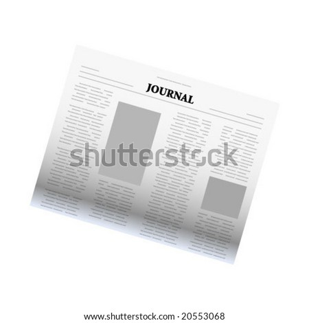 journal illustration - stock vector