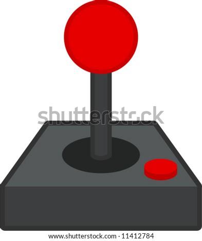 joystick - stock vector