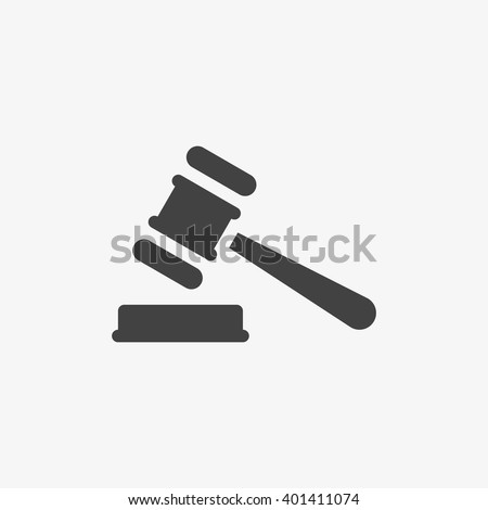 Judge Gavel Icon, Judge Gavel Vector, Judge Gavel Flat, Judge Gavel Sign, Judge Gavel App, Judge Gavel UI, Judge Gavel Art, Judge Gavel Logo, Judge Gavel Web, Judge Gavel EPS, Judge Gavel Grey.  - stock vector