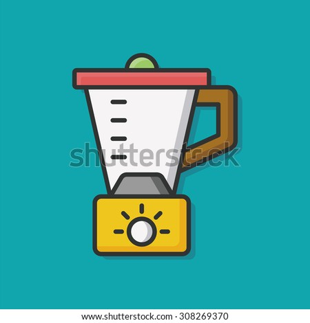 juicer icon - stock vector