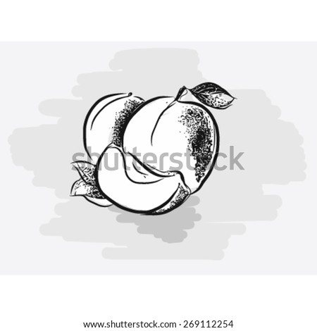 Juicy fruits - Yellow Apricots. 